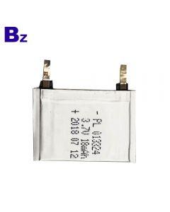 리튬 배터리 공급 업체 스마트 웨어러블 장치 용 맞춤형 배터리 BZ 013324 18mAh 3.7V 슈퍼 얇은 폴리머 리튬 이온 배터리
