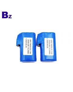 무선 가열 벨트 용 공장 공급 충전식 18650 배터리 - UFX 18650-2S 2600mAh 7.4V 리튬 이온 배터리