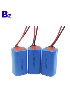 리튬 배터리 제조 업체 OEM 원통형 배터리 BZ 18650 4S 2000mAh 14.8V 충전식 리튬 이온 배터리