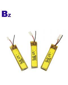LED 자전거 빛을위한 중국 리튬 전지 공급자 주문을 받아서 만들어진 건전지 BZ 350937 95mAh 3.7V 충전식 리튬 폴리머 배터리