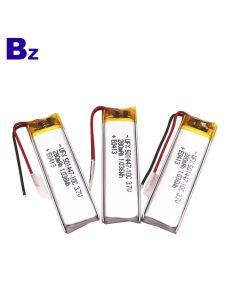 중국 최고의 리튬 배터리 공장 RC 완구 용 맞춤형 배터리 BZ 501447 10C 3.7V 280mAh Lipo 배터리
