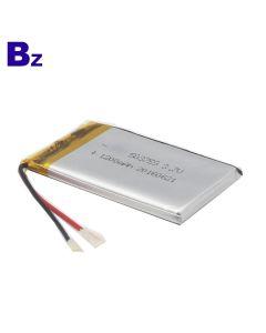 추적자 거주를위한 KC와 UL 증명서 리튬 전지 공급자 주문을 받아서 만들어진 건전지 BZ 503759 1200mAh 3.7V LiPo 배터리