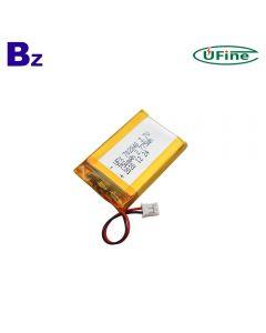중국 베스트셀러 소형 램프 배터리 UFX 702840 750mAh 3.7V 리튬 폴리머 배터리