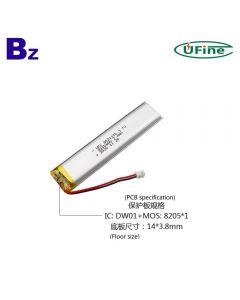 건전지 공장 직매 최상 똑똑한 독서 펜 Lipo 건전지 UFX 8021100 2000mAh 3.7V 리튬 폴리머 배터리