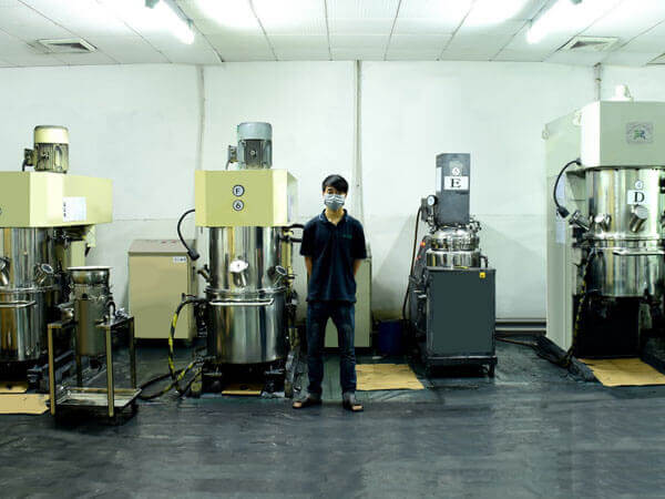 Lipo 배터리 생산 능력