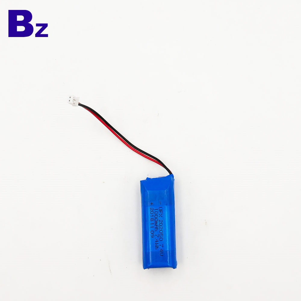 202050 1000mAh 7.4V LiPo 배터리
