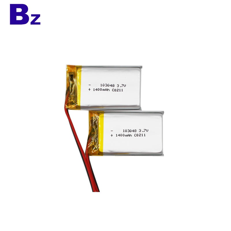 3.7V 1400mAh KC 인증 리튬 배터리