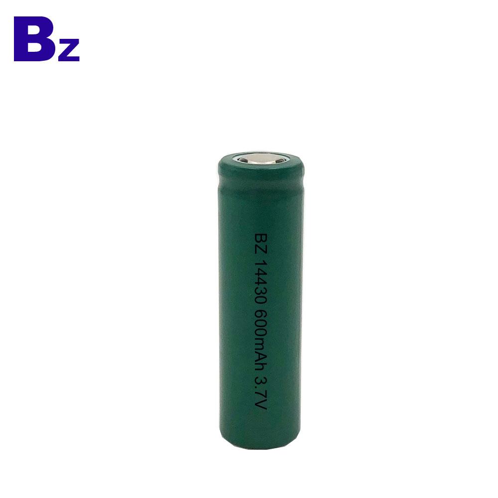 600mAh 3.7v 리튬 이온 배터리