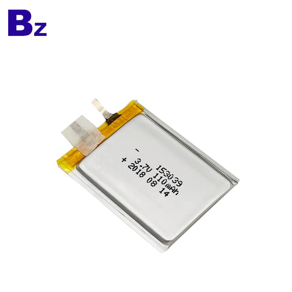 전원 카드 용 3.7V 배터리