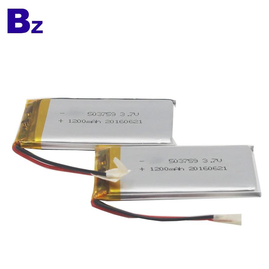 UL 인증서가있는 트래커 로케이터 용 충전식 배터리y