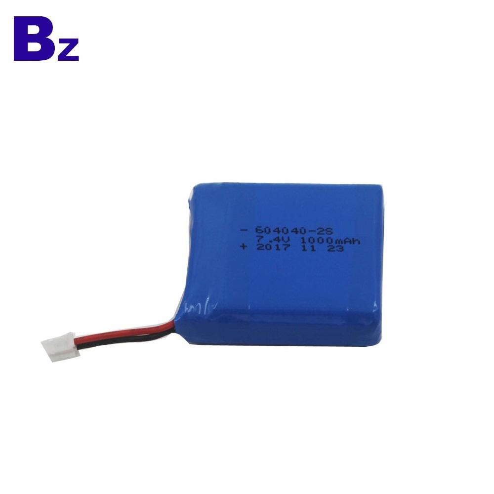 604040-2S 1000mAh KC 인증 리튬 이온 배터리