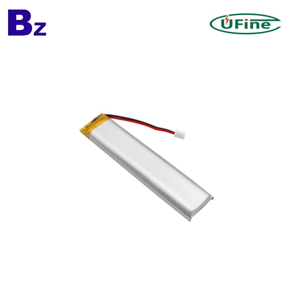 8021100 2000mAh 3.7V 리튬 폴리머 배터리