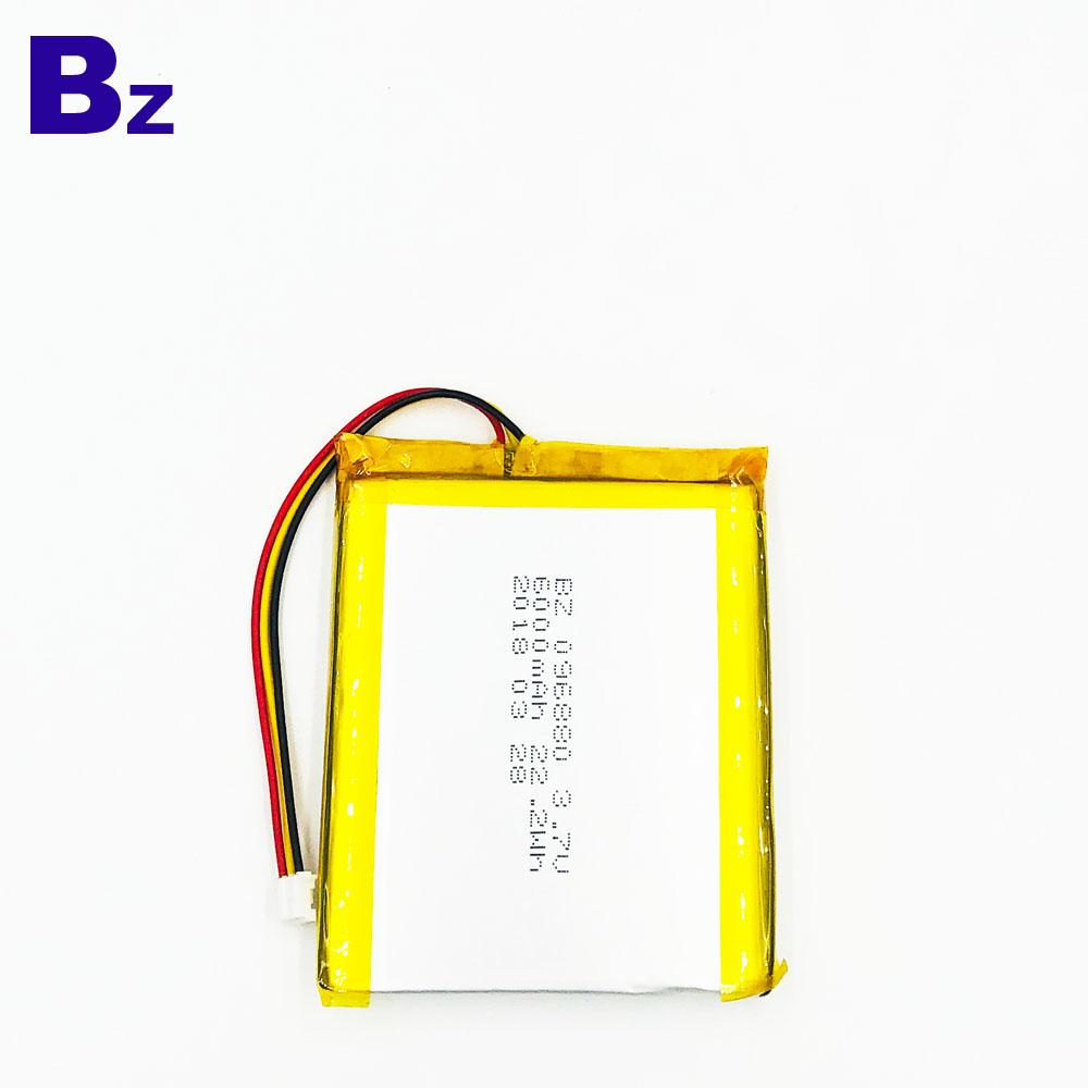 전자 미용 기기 용 리튬 폴리머 배터리 BZ 906880 6000mAh 3.7V 리튬 이온 배터리
