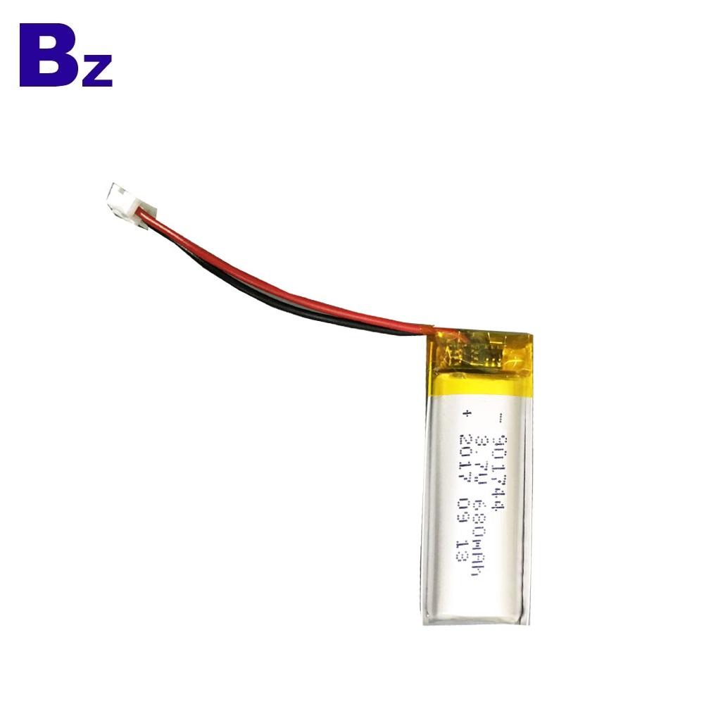 전동 칫솔 용 폴리머 리튬 배터리 680mAh