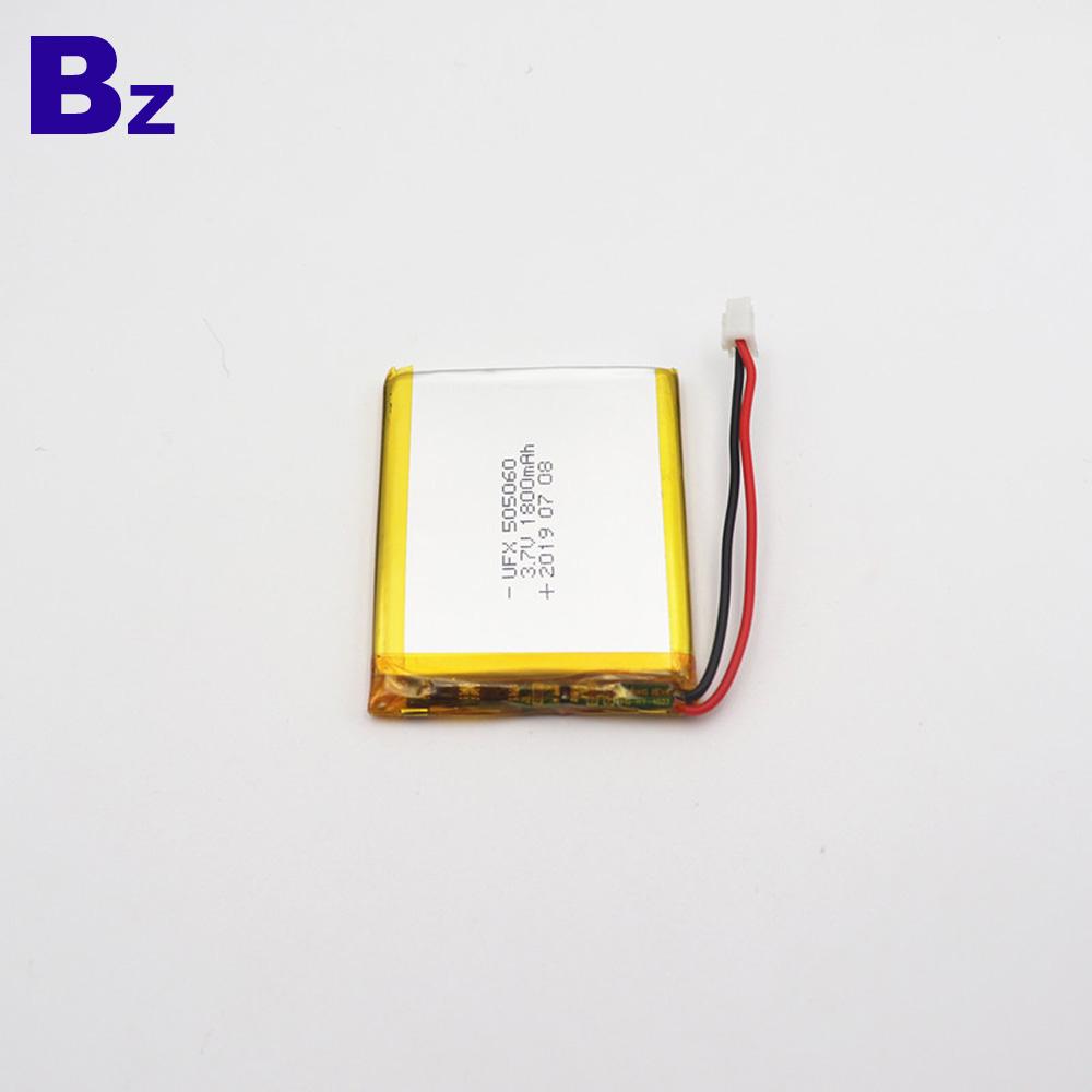505060 1800mAh 블루투스 수신기 장치 배터리