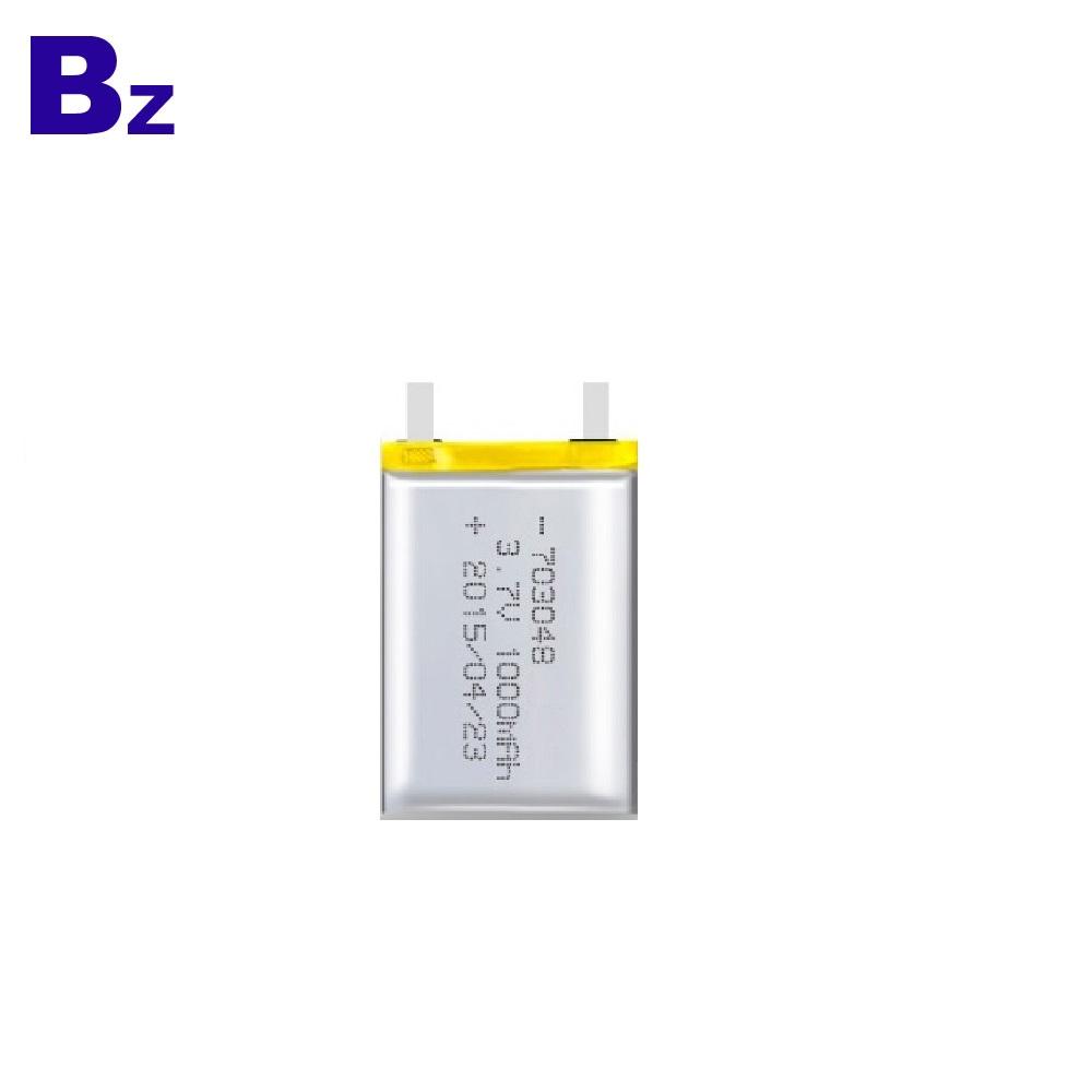 Lipo 배터리 UL 인증서