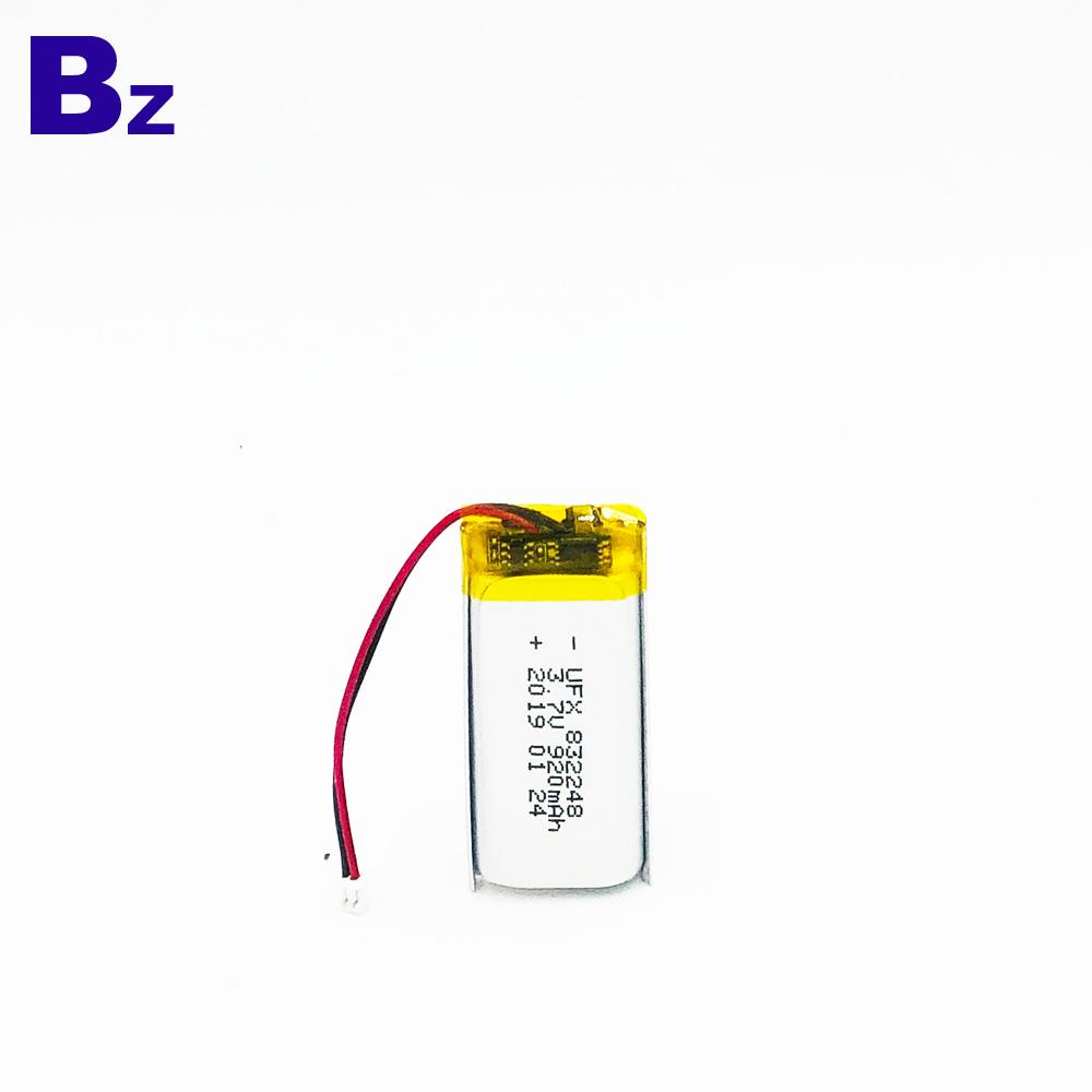 3.7V KC 인증을 획득 한 리튬 폴리머 배터리