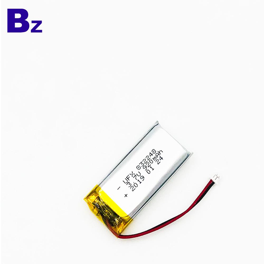3.7V KC 및 UN38.3 인증을 획득 한 리튬 폴리머 배터리