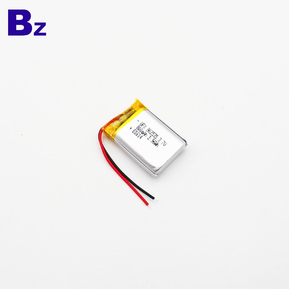 800mAh 3.7V KC 리튬 폴리머 배터리