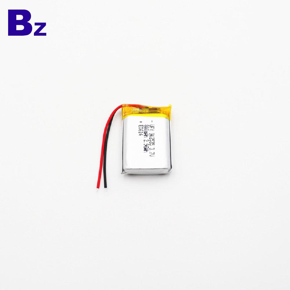 902535 800mAh 3.7V KC 리튬 폴리머 배터리