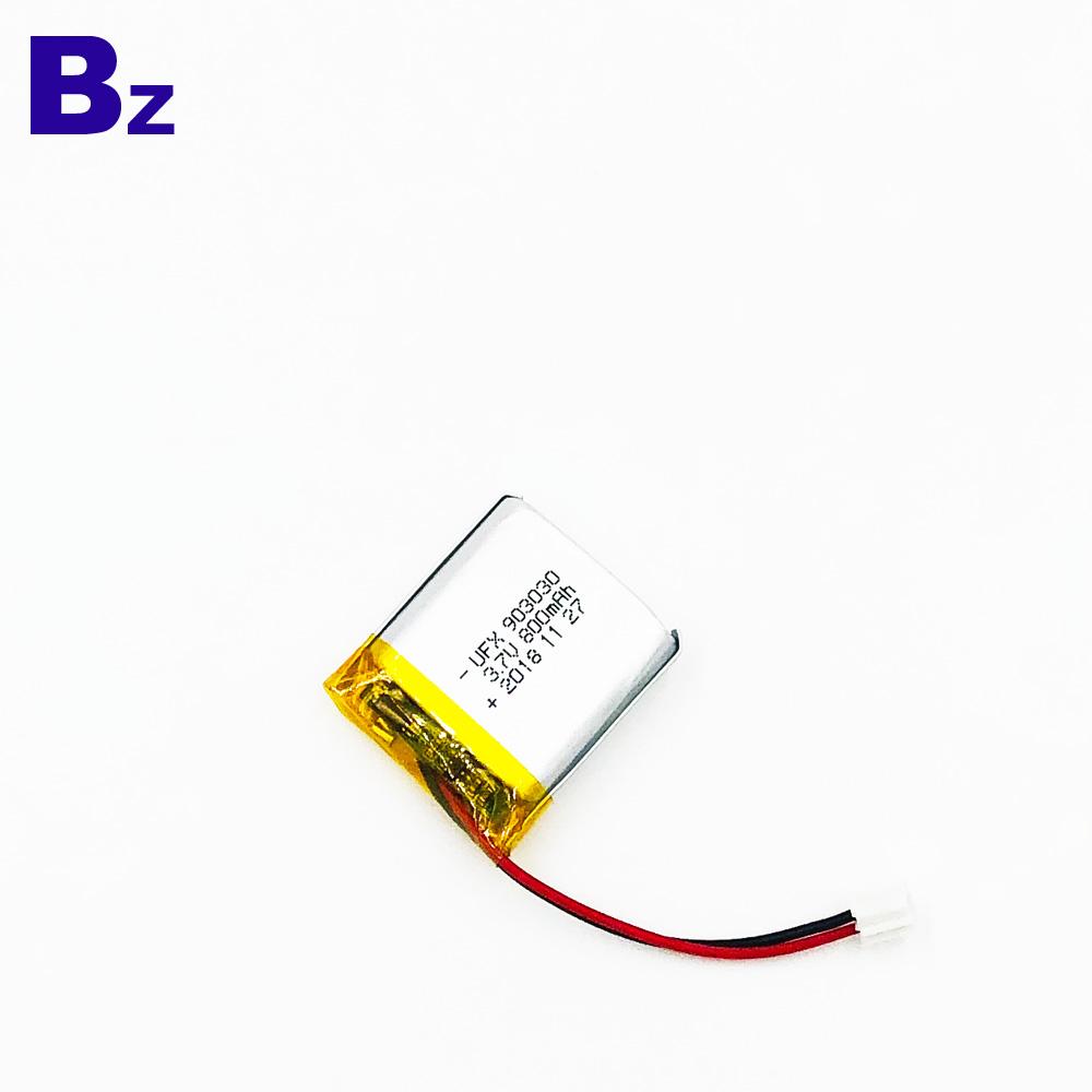 UFX 903030 800mAh 3.7V 리튬 폴리머 배터리