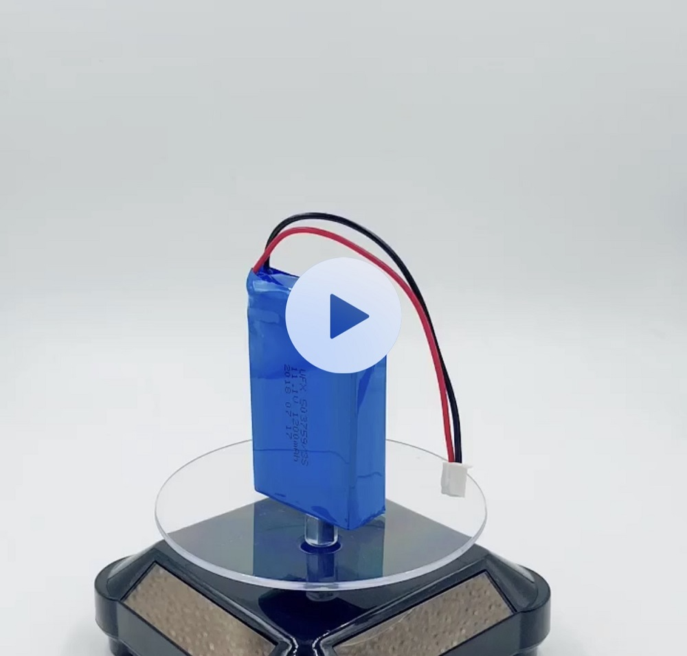 503759 3S 1200mAh 11.1V 리튬 이온 폴리머 배터리 팩